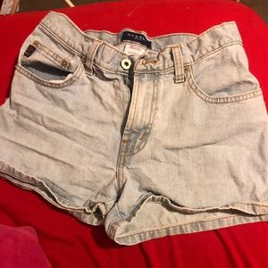 Guess high waisted shorts